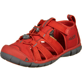 Keen Seacamp II CNX Sandals Youth fiery red